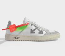 Sneakers Arrow 2.0 in weißem Kalbsleder