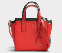Kleine Handtasche Hayden Cameron Street aus orangem Kalbsleder