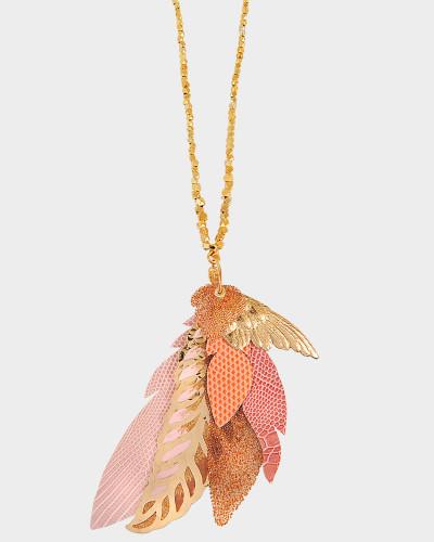 Exklusive Halskette L'Iroquoise mit Swarovski-Kristallen