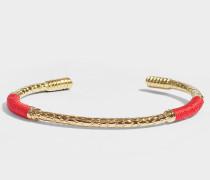 Armband Soho aus vergoldetem Messing Vermillon