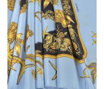 70X180 Trésor De La Mer Stola aus hellblauem Chausa Crepe
