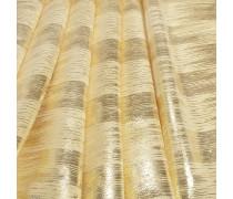 Flow Tuch aus goldfarbener Lamé Seide