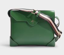 Handtasche Bold aus mehrfarbigem Kalbsleder mit pflanzlicher Gerbung