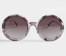 Multi Treatment Sonnenbrille aus Havana Acetat