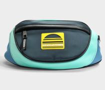 Sport Fanny Pack Tasche aus Mint grünem Polyester
