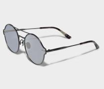 Sonnenbrille verspiegelter Effekt mit Antireflex-Gläsern