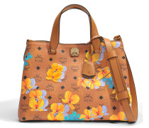 Flower crossbody tote