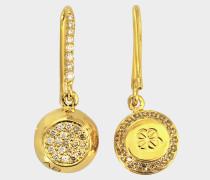 Fine Jewellery Ohrringe - 18K Gold Grelot mit Diamanten