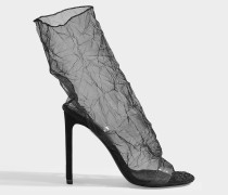 Stiefeletten D'Arcy aus schwarzem Tüll