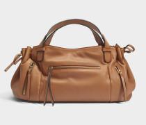 Rebelle GD Tasche aus karamelfarbenem Leder