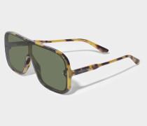 Sonnenbrille mit Flash-Effekt Gläsern