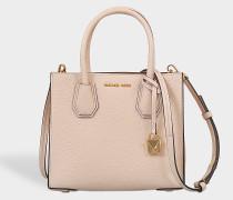 Handtasche Mercer Medium aus rosa Kalbsleder