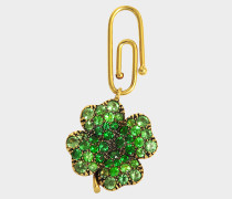 Fine Jewellery Halskette - 18K Gold Clover mit Tsavoriten