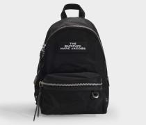 The Backpack  Rucksack aus schwarzem Nylon