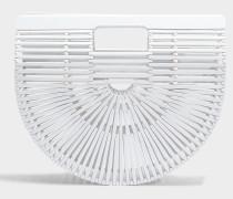 Gaia's Ark small Tasche aus weißem Bambus