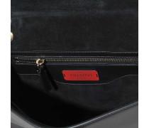 Demi-Lune Small Shoulder Bag aus schwarzem Bull Lagun