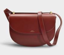Tasche Genève aus terracottafarbenem Leder
