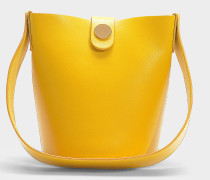 Nano Handtasche Swing aus Kalbsleder in Safrangelb