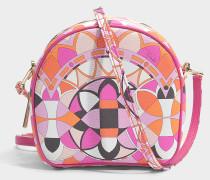Isadora Small Hutbox Tasche aus rosanem PVC