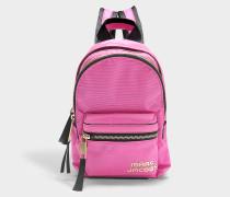 Rucksack Trek Pack Mini aus Nylon in Rosa