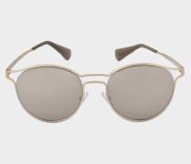 0PR 62SS Sonnenbrille aus Metalloptik und Acetat