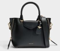 Blakely Medium Messenger Tasche aus schwarzem Viola Leder