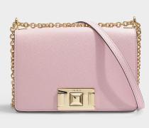 Mini Tasche Crossbody  Mimi' aus rosa Kalbsleder