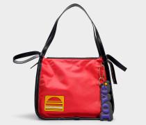 Shopper Sport aus Nylon in Rot und Bunt