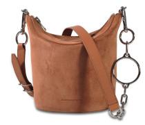 Ace Crossbody Tasche in Terracotta aus Kalbsleder