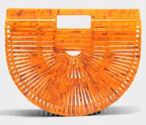 Acryl Ark small Tasche aus citrinefarbenem Acryl