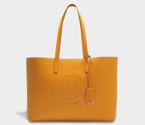 Smiley Ebury Shopper Tasche aus Manuka Circus Leder