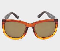 orange Sonnenbrille 734