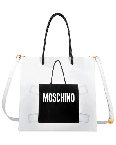 2018 Neuer Online-Verkauf Moschino Damen Shopper Trompe l'il Rabatt Echt Günstigstener Preis Günstiger Preis a5Vt0