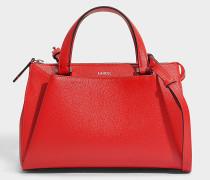 Lison XS Tote Bag aus 1948 rotem Leder