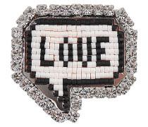 Brosche Emojibling Bul Love
