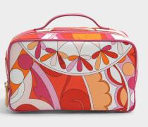 Capri Big Case Tasche in orange aus Nylon