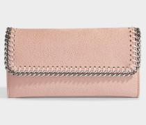 Continental Wallet Falabella aus Shaggy Deer