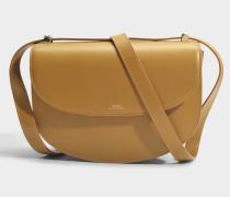Genève Tasche aus Cab camelfarbenem glattem Kalbsleder