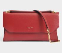 Sutton Envelope Clutch Tasche aus Scarlet gemustertem Leder
