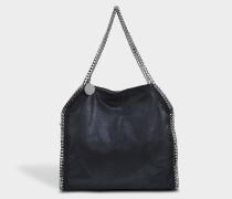 Shaggy Deer Falabella Medium Tasche aus schwarzem Öko Leder