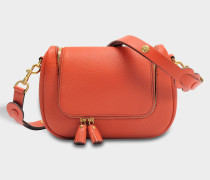 Vere Small Soft Satchel Tasche aus Burnt Sienna Leder