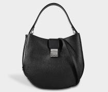 Patricia Hobo Large Tasche aus schwarzem Park Avenue Leder