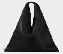 Japanese Large Tasche aus schwarzem Netzstoff