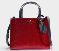 Sam White Rock Road Tasche aus roter Baumwolle