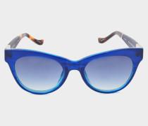 blaue Sonnenbrille 36