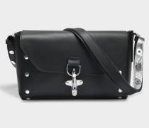 Tool Tasche aus schwarzem Kalbsleder