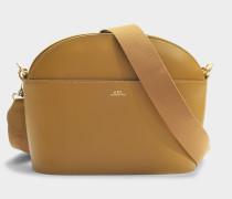 Gabrielle Tasche aus Cab camelfarbenem glänzend Kalbsleder