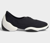 Stretch Sneaker aus schwarzem Carlito Stretch Stoff