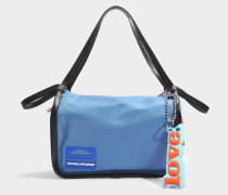 Sport Colorblocked Tote Tasche aus Tiger Lily Polyester
