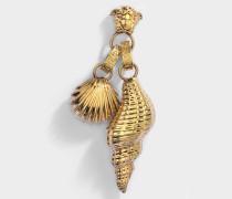 Tribute Trésor De La Mer Ohrringe aus goldfarbenem Metall